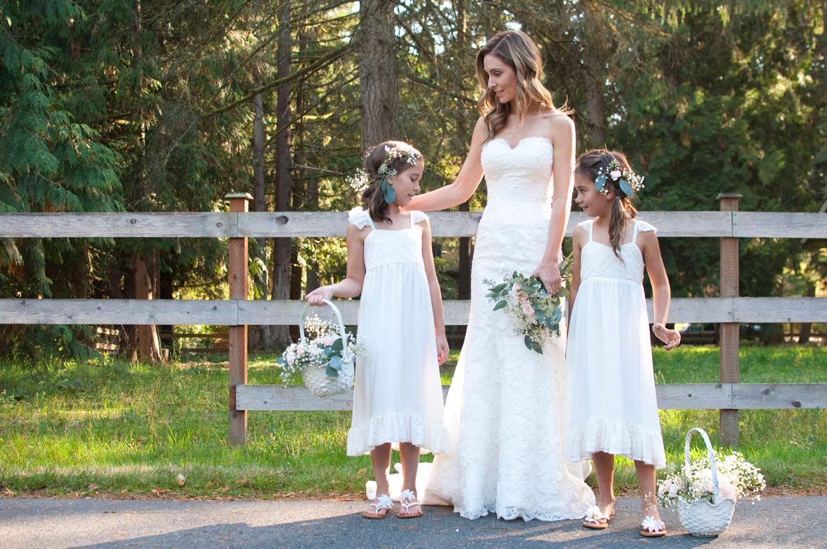 Rustic Flower Girl Dresses For Your Country Wedding